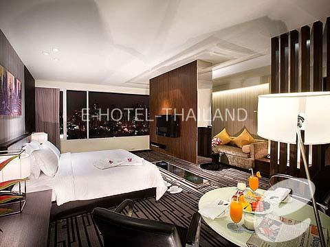 バンコク ラチャダピセーク通りのホテル : エー ワン ブティック ホテル(A-One Boutique Hotel)のお部屋「ブティック スイート」