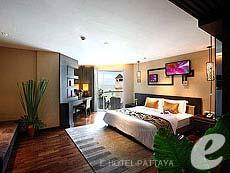 パタヤ ノースパタヤのホテル : エー ワン パタヤ ホテル(1)のお部屋「ビーチ デラックス(ツイン)」