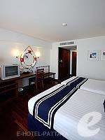 パタヤ ノースパタヤのホテル : エーワン ザ ロイヤル クルーズ ホテル(A-One The Royal Cruise Hotel)のスーペリア / メインウイングルームの設備 Bedroom