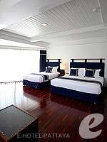 パタヤ ノースパタヤのホテル : エーワン ザ ロイヤル クルーズ ホテル(A-One The Royal Cruise Hotel)のファミリー スイートルームの設備 Bedroom