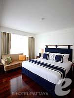 パタヤ ノースパタヤのホテル : エーワン ザ ロイヤル クルーズ ホテル(A-One The Royal Cruise Hotel)のミニ スイートルームの設備 Bedroom