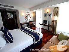 パタヤ ノースパタヤのホテル : エーワン ザ ロイヤル クルーズ ホテル(1)のお部屋「ミニ スイート」