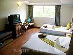 プーケット スパ併設のホテル : アブソリュート シーパール ビーチリゾート(Absolute Sea Pearl Beach Resort)のスーペリアルームの設備 Bedroom