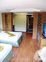 プーケット スパ併設のホテル : アブソリュート シーパール ビーチリゾート(Absolute Sea Pearl Beach Resort)のスーペリアルームの設備 Room View