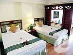 プーケット スパ併設のホテル : アブソリュート シーパール ビーチリゾート(Absolute Sea Pearl Beach Resort)のデラックスルームの設備 Bedroom