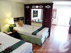 プーケット スパ併設のホテル : アブソリュート シーパール ビーチリゾート(1)のお部屋「デラックス」