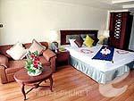 プーケット スパ併設のホテル : アブソリュート シーパール ビーチリゾート(Absolute Sea Pearl Beach Resort)のエグゼクティブルームの設備 Bedroom