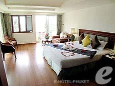 プーケット スパ併設のホテル : アブソリュート シーパール ビーチリゾート(1)のお部屋「エグゼクティブ」