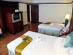 プーケット スパ併設のホテル : アブソリュート シーパール ビーチリゾート(Absolute Sea Pearl Beach Resort)のジュニアスイートルームの設備 Bedroom