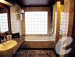 プーケット スパ併設のホテル : アブソリュート シーパール ビーチリゾート(Absolute Sea Pearl Beach Resort)のジュニアスイートルームの設備 Bathroom