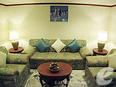 プーケット スパ併設のホテル : アブソリュート シーパール ビーチリゾート(1)のお部屋「ジュニアスイート」
