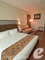 バンコク スクンビットのホテル : アデルフィ スイーツ(Adelphi Suites)のスタジオルームの設備 Bedroom