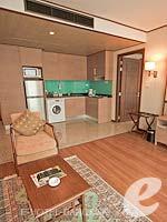 バンコク スクンビットのホテル : アデルフィ スイーツ(Adelphi Suites)のエグゼクティブ ワンベッドルームルームの設備 Room View
