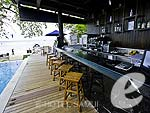 Poolside Bar : Chura Samui resort, Couple & Honeymoon, Phuket