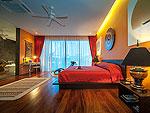 プーケット その他・離島のホテル : アルマリ ラグジュアリー レジデンス(Almali Luxury Residence)の4ベッドルームルームの設備 Master Bedroom