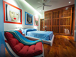 プーケット その他・離島のホテル : アルマリ ラグジュアリー レジデンス(Almali Luxury Residence)の4ベッドルームルームの設備 Second Bedroom
