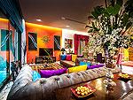 プーケット その他・離島のホテル : アルマリ ラグジュアリー レジデンス(Almali Luxury Residence)の4ベッドルームルームの設備 Living Room