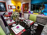 プーケット その他・離島のホテル : アルマリ ラグジュアリー レジデンス(Almali Luxury Residence)の4ベッドルームルームの設備 Dining Area