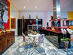 プーケット その他・離島のホテル : アルマリ ラグジュアリー レジデンス(Almali Luxury Residence)の4ベッドルームルームの設備 Kitchen