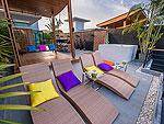 プーケット その他・離島のホテル : アルマリ ラグジュアリー レジデンス(Almali Luxury Residence)の4ベッドルームルームの設備 Terrace