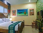 プーケット ファミリー&グループのホテル : アルマリ レジデンス ヴィラ マリ(Almali Residence Villa Mali)の2ベッドルームルームの設備 Second Bedroom