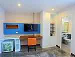 プーケット 5,000円以下のホテル : デイズ イン パトンビーチ(Days inn Patong Beach)のデラックス ツインルームの設備 Room View