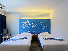プーケット 5,000円以下のホテル : デイズ イン パトンビーチ(1)のお部屋「デラックス ツイン」