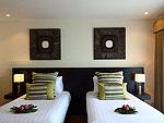 サムイ島 チョンモーンビーチのホテル : アルファ ヴィラ(Alpha Villa)の3ベッドルームルームの設備 Bedroom