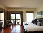 サムイ島 チョンモーンビーチのホテル : アルファ ヴィラ(Alpha Villa)の5ベッドルームルームの設備 Bedroom