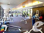 バンコク サービスアパートのホテル : アマンタ ラチャダ サービス アパートメント 「Fitness」