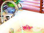 バンコク ラチャダピセーク通りのホテル : アマンタ ラチャダ サービス アパートメント(Amanta Hotel & Residence Ratchada)の1ベッドルーム デラックス スイート プール ビュルームの設備 Bath Room