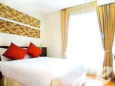 バンコク ラチャダピセーク通りのホテル : アマンタ ラチャダ サービス アパートメント(Amanta Hotel & Residence Ratchada)のお部屋「2ベッドルーム グランド スイ ート プール ビュー」