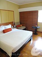 パタヤ ノースパタヤのホテル : アマリ オーシャン ホテル パタヤ(Amari Ocean Hotel Pattaya)のスーペリア / ガーデン ウィングルームの設備 Bedroom