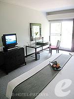 パタヤ ノースパタヤのホテル : アマリ オーシャン ホテル パタヤ(Amari Ocean Hotel Pattaya)のデラックス / ガーデン ウィングルームの設備 Bedroom