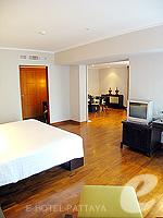 パタヤ ノースパタヤのホテル : アマリ オーシャン ホテル パタヤ(Amari Ocean Hotel Pattaya)の1ベッドルーム スイート / ガーデン ウィングルームの設備 Bedroom
