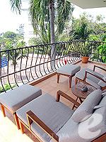 パタヤ ノースパタヤのホテル : アマリ オーシャン ホテル パタヤ(Amari Ocean Hotel Pattaya)の1ベッドルーム スイート / ガーデン ウィングルームの設備 Balcony