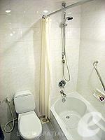 パタヤ ノースパタヤのホテル : アマリ オーシャン ホテル パタヤ(Amari Ocean Hotel Pattaya)の1ベッドルーム スイート / ガーデン ウィングルームの設備 Bath room