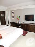 パタヤ ノースパタヤのホテル : アマリ オーシャン ホテル パタヤ(Amari Ocean Hotel Pattaya)のデラックス タワールームの設備 Bedroom