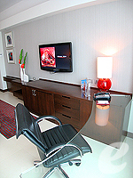 パタヤ ノースパタヤのホテル : アマリ オーシャン ホテル パタヤ(Amari Ocean Hotel Pattaya)のデラックス タワールームの設備 Table
