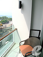 パタヤ ノースパタヤのホテル : アマリ オーシャン ホテル パタヤ(Amari Ocean Hotel Pattaya)のデラックス タワールームの設備 Balcony