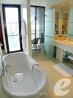 パタヤ ノースパタヤのホテル : アマリ オーシャン ホテル パタヤ(Amari Ocean Hotel Pattaya)のオーシャン デラックス / オーシャン タワールームの設備 Bath Room
