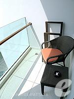 パタヤ ノースパタヤのホテル : アマリ オーシャン ホテル パタヤ(Amari Ocean Hotel Pattaya)のデラックス ファミリー / オーシャン タワールームの設備 Balcony