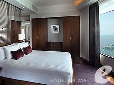 パタヤ ノースパタヤのホテル : アマリ オーシャン ホテル パタヤ(1)のお部屋「ジュニアスイート / オーシャン タワー」