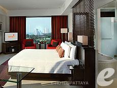 パタヤ ノースパタヤのホテル : アマリ オーシャン ホテル パタヤ(1)のお部屋「ジュニア スイート オーシャン ビュー / オーシャン タワー」