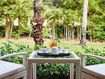 サムイ島 10,000~20,000円のホテル : アマリ コ サムイ(Amari Koh Samui)のデラックス タイ ヴィレッジルームの設備 Balcony
