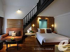 サムイ島 10,000~20,000円のホテル : アマリ コ サムイ(1)のお部屋「デラックス ファミリー デュプレックス」