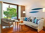 サムイ島 10,000~20,000円のホテル : アマリ コ サムイ(Amari Koh Samui)のジュニア スイート オーシャンビュールームの設備 Room View