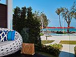 サムイ島 10,000~20,000円のホテル : アマリ コ サムイ(Amari Koh Samui)のジュニア スイート オーシャンビュールームの設備 Balcony