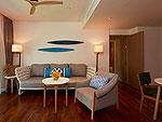 サムイ島 10,000~20,000円のホテル : アマリ コ サムイ(Amari Koh Samui)の2ベッドルーム ファミリー スイート ビーチウイングルームの設備 Room View