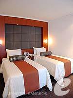 バンコク カップル&ハネムーンのホテル : アマリ ウォーターゲート ホテル & スパ(Amari Watergate Hotel & Spa)のデラックスルームの設備 Bedroom